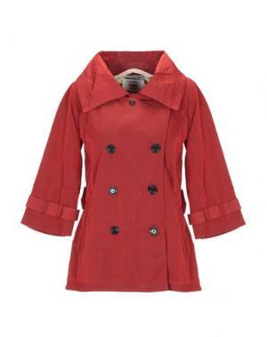 Легкое пальто DEKKER. Цвет: кирпично-красный
