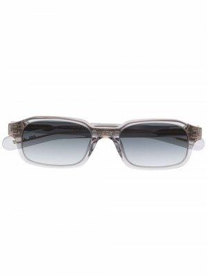Солнцезащитные очки в прямоугольной оправе FLATLIST. Цвет: серый