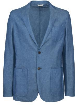 Голубой пиджак COLOMBO