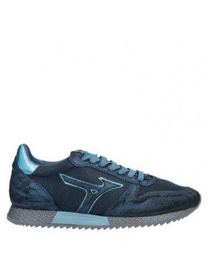 Низкие кеды и кроссовки MIZUNO. Цвет: темно-синий