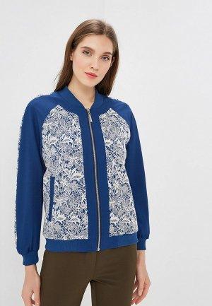 Куртка Imago. Цвет: синий