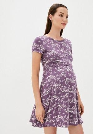 Платье Fest. Цвет: фиолетовый