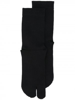 Tabi toe socks Maison Margiela. Цвет: черный