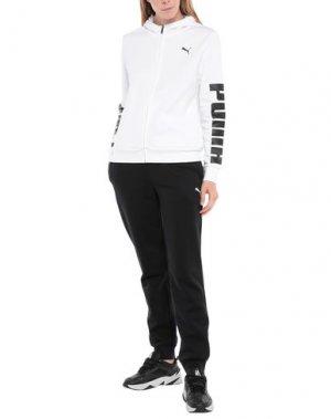 Спортивный костюм PUMA. Цвет: белый