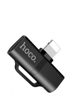 Аудио-переходник LS20 Hoco. Цвет: черный
