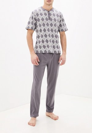 Пижама Cacharel. Цвет: серый