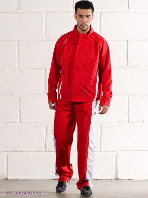 Спортивный костюм FIFA. Цвет: красный