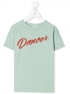 Dancer T-shirt Bobo Choses. Цвет: зеленый