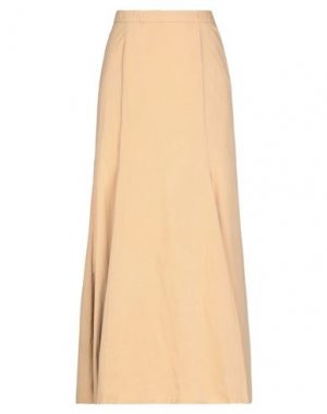 Длинная юбка ATTIC AND BARN. Цвет: бежевый