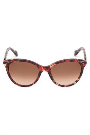Солнцезащитные очки Carolina herrera NEW YORK. Цвет: черепаховый