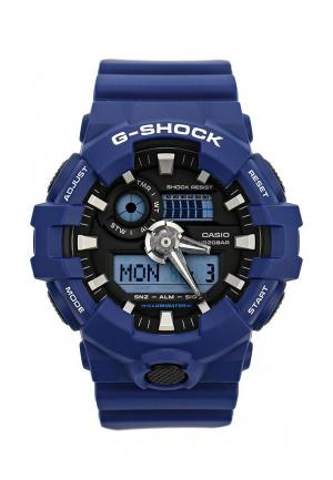 Часы Casio G-SHOCK GA-700-2A. Цвет: синий