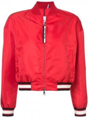 Куртка-бомбер Actinote Moncler. Цвет: красный