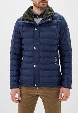 Куртка утепленная Giorgio Di Mare. Цвет: синий