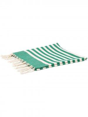 Пляжное полотенце в полоску Mc2 Saint Barth. Цвет: нейтральные цвета