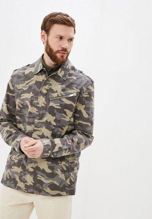 Куртка Antony Morato. Цвет: хаки