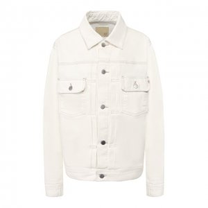 Джинсовая куртка Ag. Цвет: белый