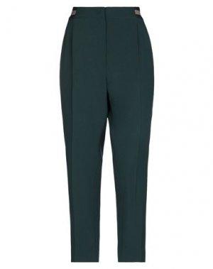 Повседневные брюки IRIS VON ARNIM. Цвет: темно-зеленый