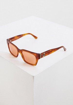Очки солнцезащитные Jimmy Choo JO/S 0UC. Цвет: коричневый