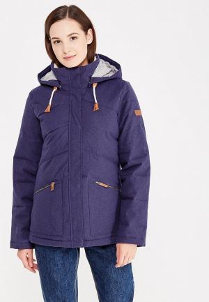 Куртка утепленная Roxy NANCY. Цвет: синий