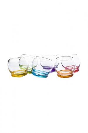 Набор стаканов для воды BOHEMIA CRYSTAL. Цвет: прозрачный