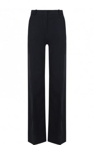 Однотонные брюки из хлопка Loro Piana. Цвет: темно-серый