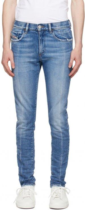 Blue D-Fining Jeans Diesel. Цвет: 01 blue