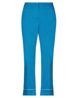 Повседневные брюки BEATRICE. Цвет: лазурный