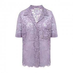 Блузка Valentino. Цвет: фиолетовый