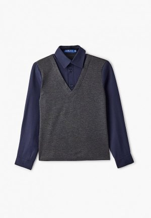 Пуловер Smena B636.05. Цвет: серый