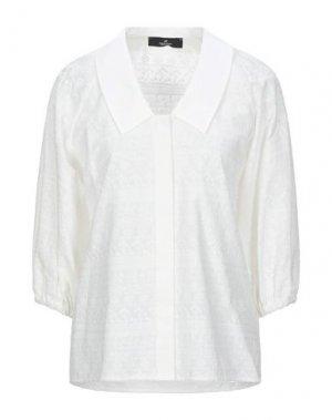 Pубашка COMPAGNIA ITALIANA. Цвет: слоновая кость