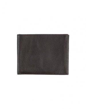 Бумажник OSKLEN. Цвет: темно-коричневый
