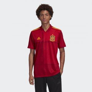 Домашняя футболка сборной Испании Performance adidas. Цвет: красный