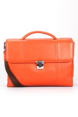Briefcase bag Giorgio Fedon. Цвет: orange