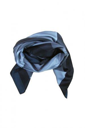Платок F.FRANTELLI. Цвет: серый, стальной, черный