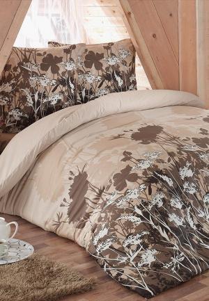 Постельное белье 2-спальное Tete-a-Tete. Цвет: разноцветный
