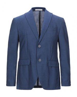 Пиджак GIACCHE'. Цвет: синий