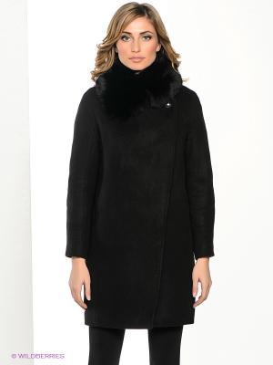 Пальто Klimini. Цвет: черный