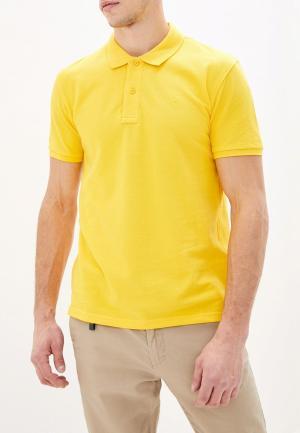 Поло Celio. Цвет: желтый