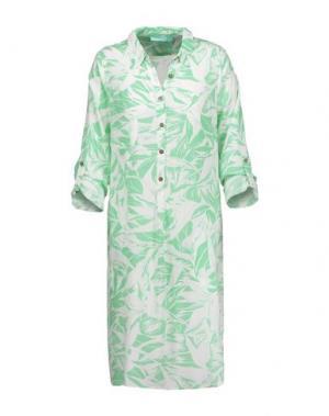 Пляжное платье MELISSA ODABASH. Цвет: зеленый