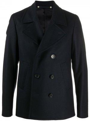 Двубортный пиджак PS Paul Smith. Цвет: синий