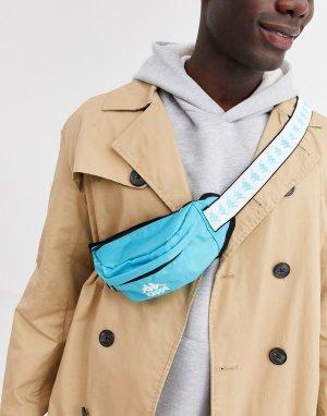Зеленая сумка-кошелек с фирменной лентой Authentic Anais-Зеленый Kappa