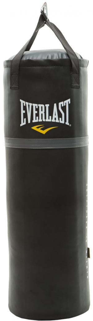 Мешок набивной , 30 кг Everlast. Цвет: черный