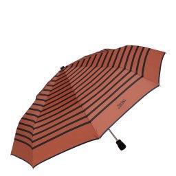 Зонт полуавтомат 207 оранжево-коричневый JEAN PAUL GAULTIER