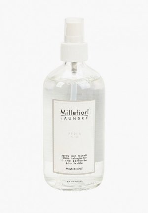 Духи для текстиля Millefiori Milano LAUNDRY Жемчужина  FABRIC REFRESHENER PERLA. Цвет: прозрачный