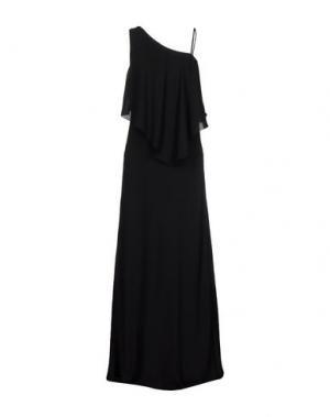 Длинное платье ELIZABETH AND JAMES. Цвет: черный