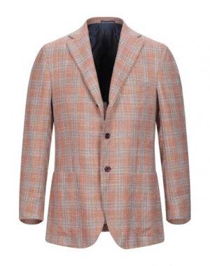 Пиджак KITON. Цвет: абрикосовый