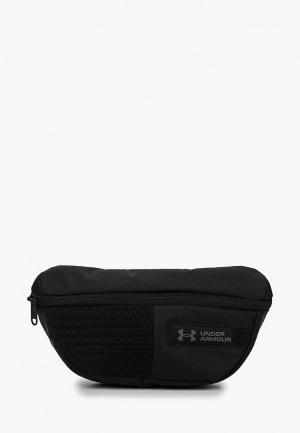 Сумка поясная Under Armour UA Waist Bag. Цвет: черный