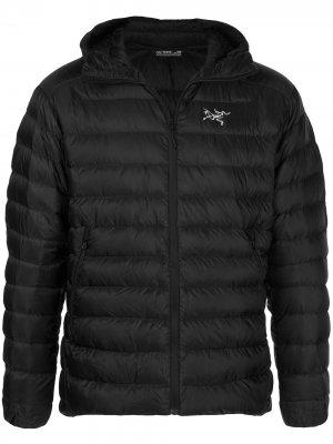 Arcteryx стеганая куртка Cerium Arc'teryx. Цвет: черный