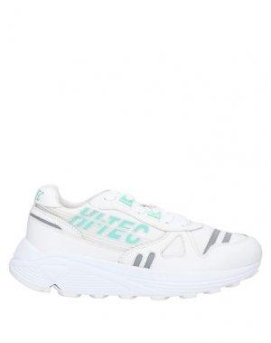 Кеды и кроссовки HI-TEC. Цвет: белый