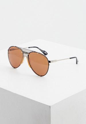 Очки солнцезащитные Gucci GG0740S 003. Цвет: разноцветный